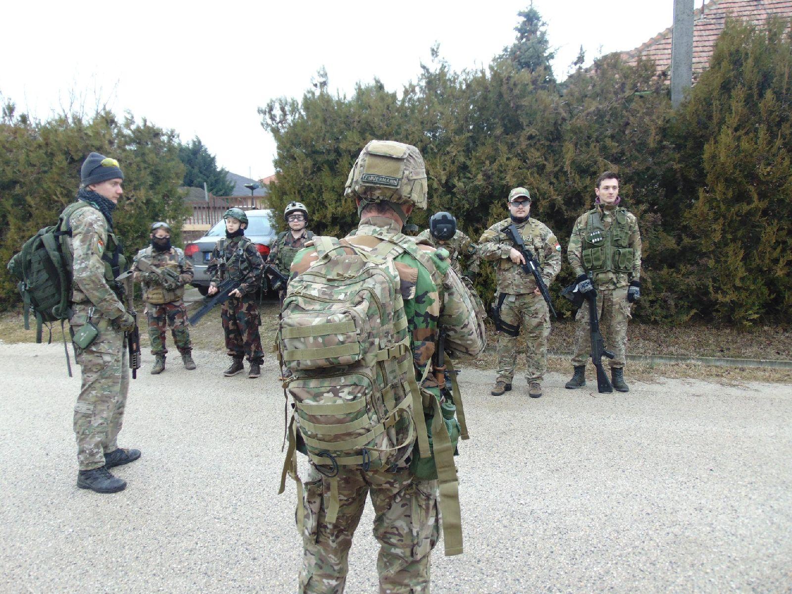 d1e63a7d9db2 Terepgyakorlatozott a Katonai Rendvédelmi Tagozat dunavarsányi egysége
